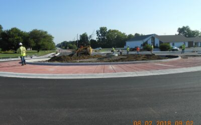Bridgeport Road and Morris Road Intersection Improvement; Contract R-37565, City of Indianapolis